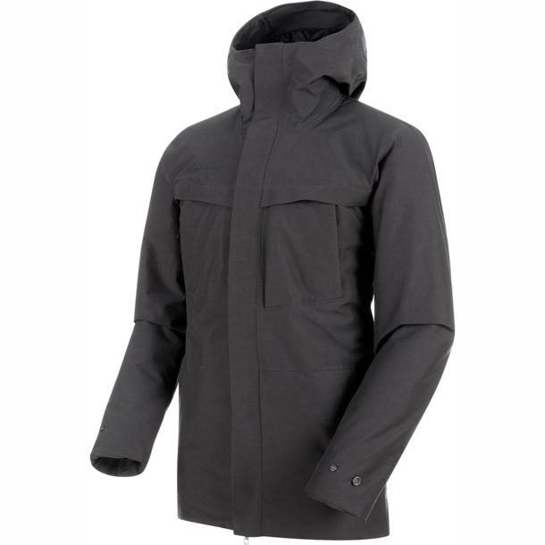 big sale f6a40 feab0 Herren Chamuera HS Thermo Hooded Parka phantom S