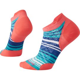 Smartwool Damen PhD Run Ultra Light Striped Micro Socken