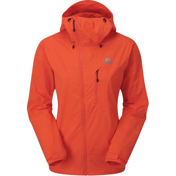 Mountain Equipment Squall Hooded Jacket Wmns Capsicum Red