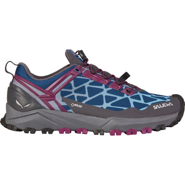 Salewa Damen Multi Track GTX Schuhe magenta purple-dark denim UK 4