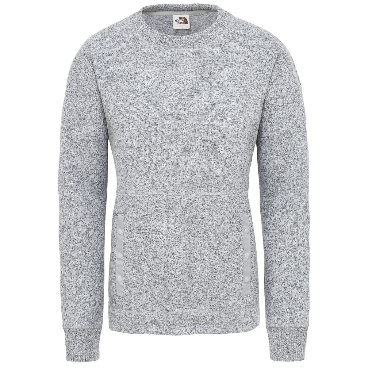 The North Face Damen Crescent Pullover (Größe XS, Grau) | Pullover > Damen