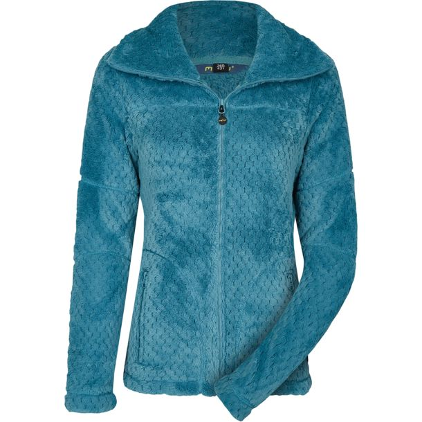 Damen Kaluga High Collar Jacke larkspur 36