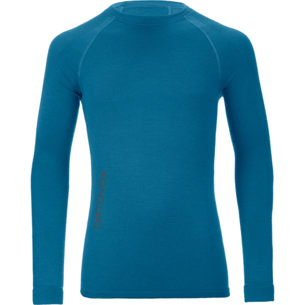 Ortovox Men's Competition Long Sleeve blue sea S