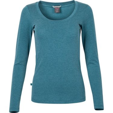 Rab Damen Crimp Longsleeve blue monday marl 8