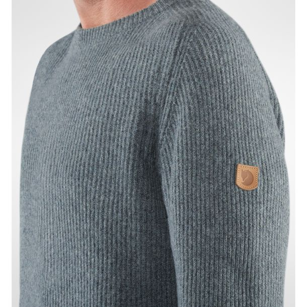 Men's Greenland Re Wool Sweater thunder grey M