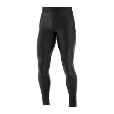 Herren Fast Wing Long Tight black XS