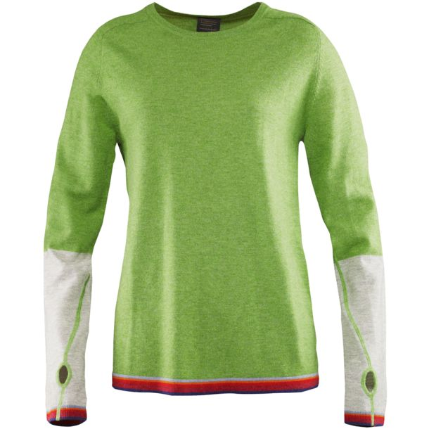 Elevenate Women's Merino W's Knit leaf green XS
