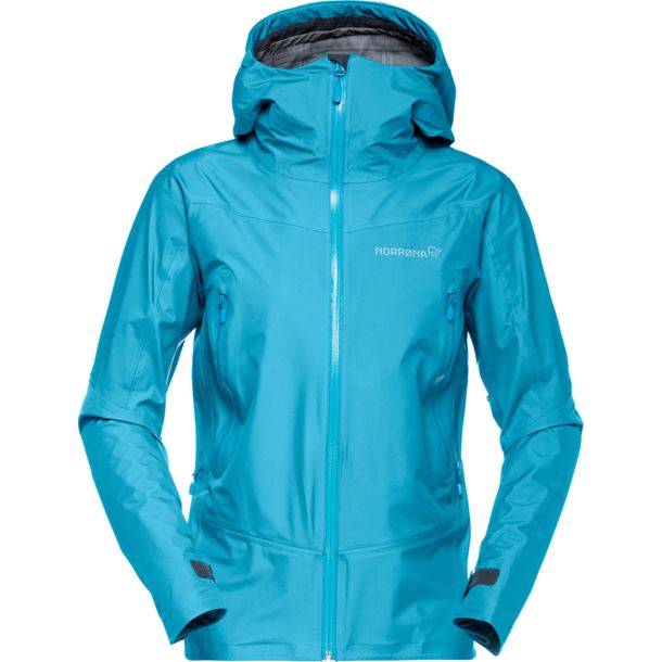 Women's Falketind Gore Tex Jacket blue moon M