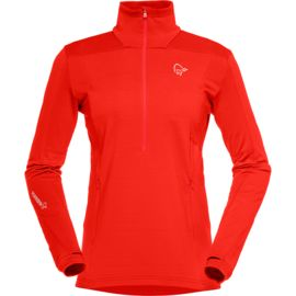 Norrona Damen Falketind Warm1 Stretch Zip-Neck