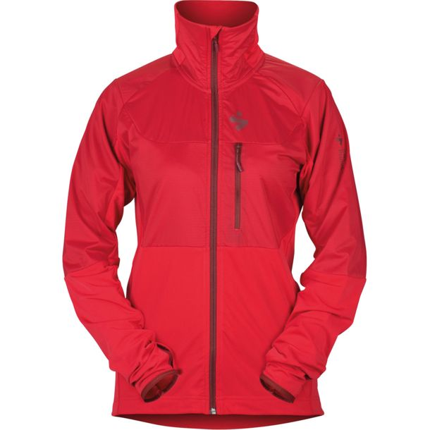 Damen Supernaut Fleece Jacke rubus red XS