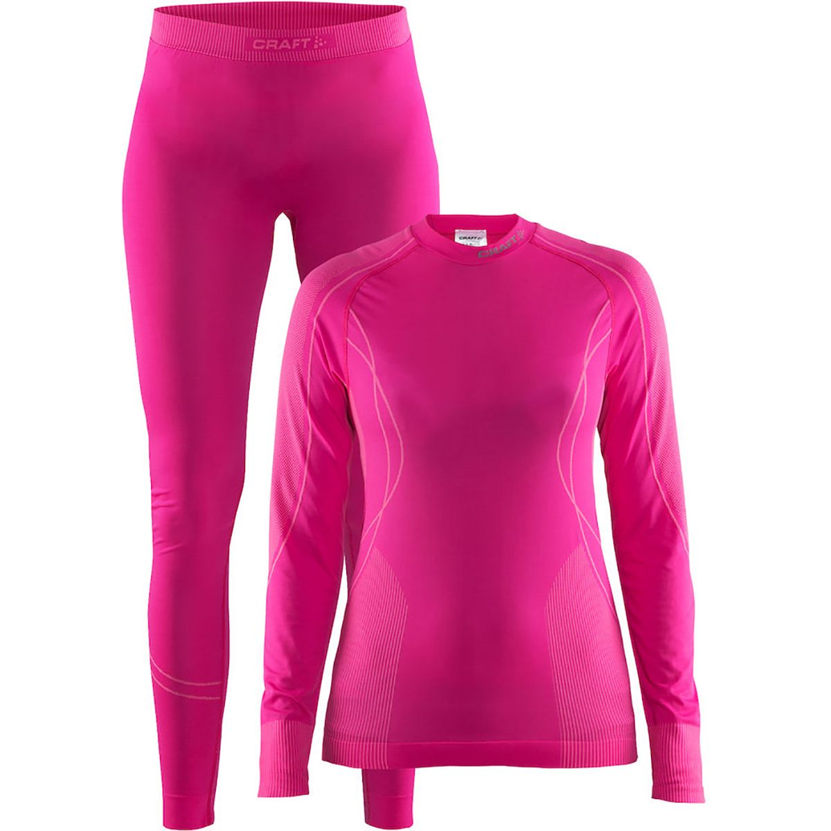 Craft Damen Seamless Zone Wäsche-Set Pink XS