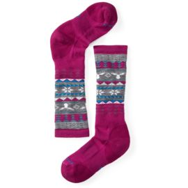 Smartwool Kinder Wintersport Fairisle Moose Skisocke