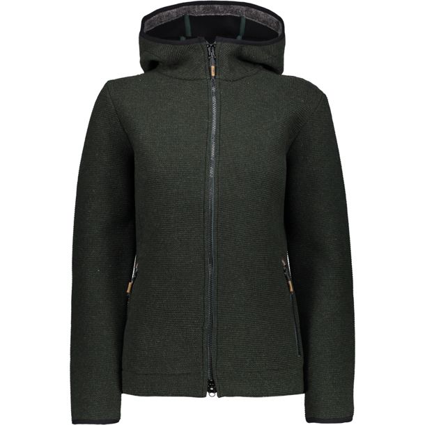 factory authentic 27aab 02de6 Damen Wooltech Jacke jungle-nero 40