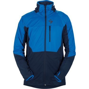 Herren Supernaut Fleece Hood Jacke flash blue midnight blue S