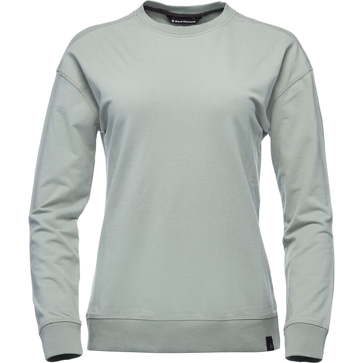 Black Diamond Damen Basis Pullover (Größe XS, Grau) | Pullover > Damen