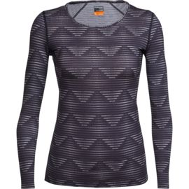 Icebreaker Damen Oasis Diamond Scoop Longsleeve