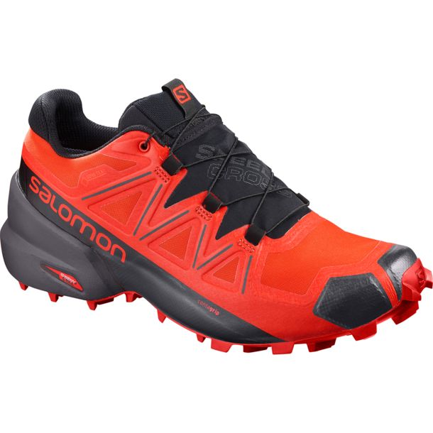 Mens Salomon Speedcross 4 Sneakers Outdoor Running Hike Sports Shoes