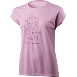 Houdini Damen Big Up Message T-Shirt