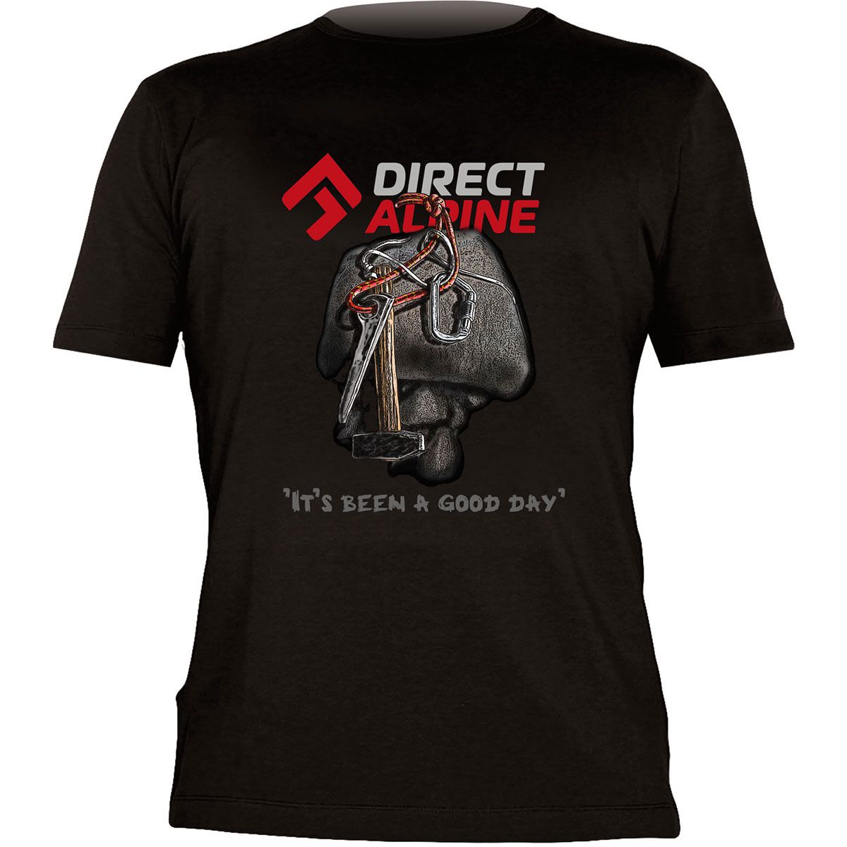directalpine Herren Flash 4.0 T-Shirt Schwarz M