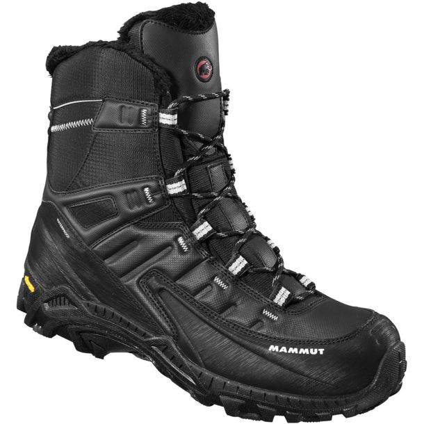Buy Mammut Blackfin II High WP Winter Boot black-silver UK4 online ... a419a359486