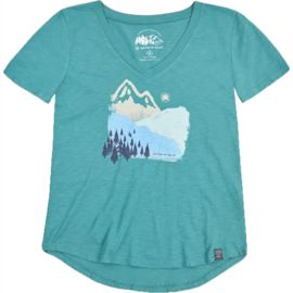 United by Blue Damen Mountain Ink T-Shirt