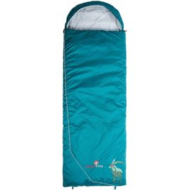 Grüezi Bag Biopod Wool Blanket Goaß Sleeping Bag