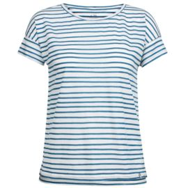 Icebreaker Damen Aria Scoop Pulled Lines T-Shirt