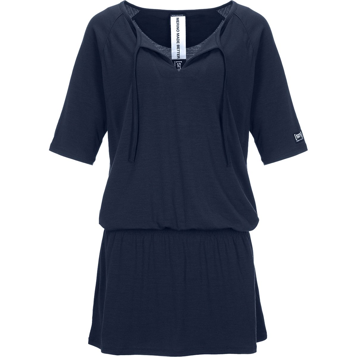 Super.Natural Damen Vacation Kleid (Größe L, Blau) | Kleider > Damen