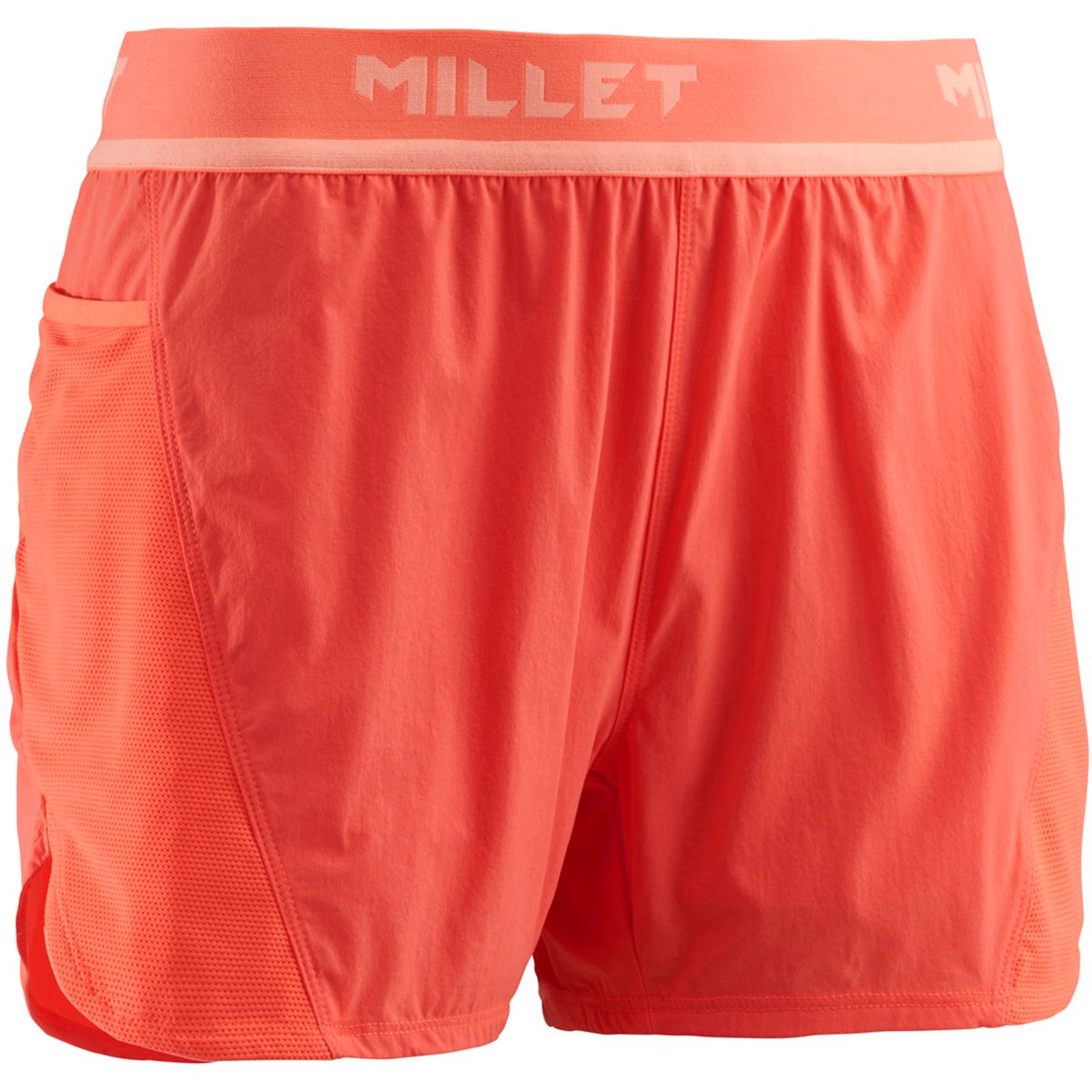 Millet Damen Ld Ltk Intense Shorts (Größe M, Orange) | Laufhosen > Damen