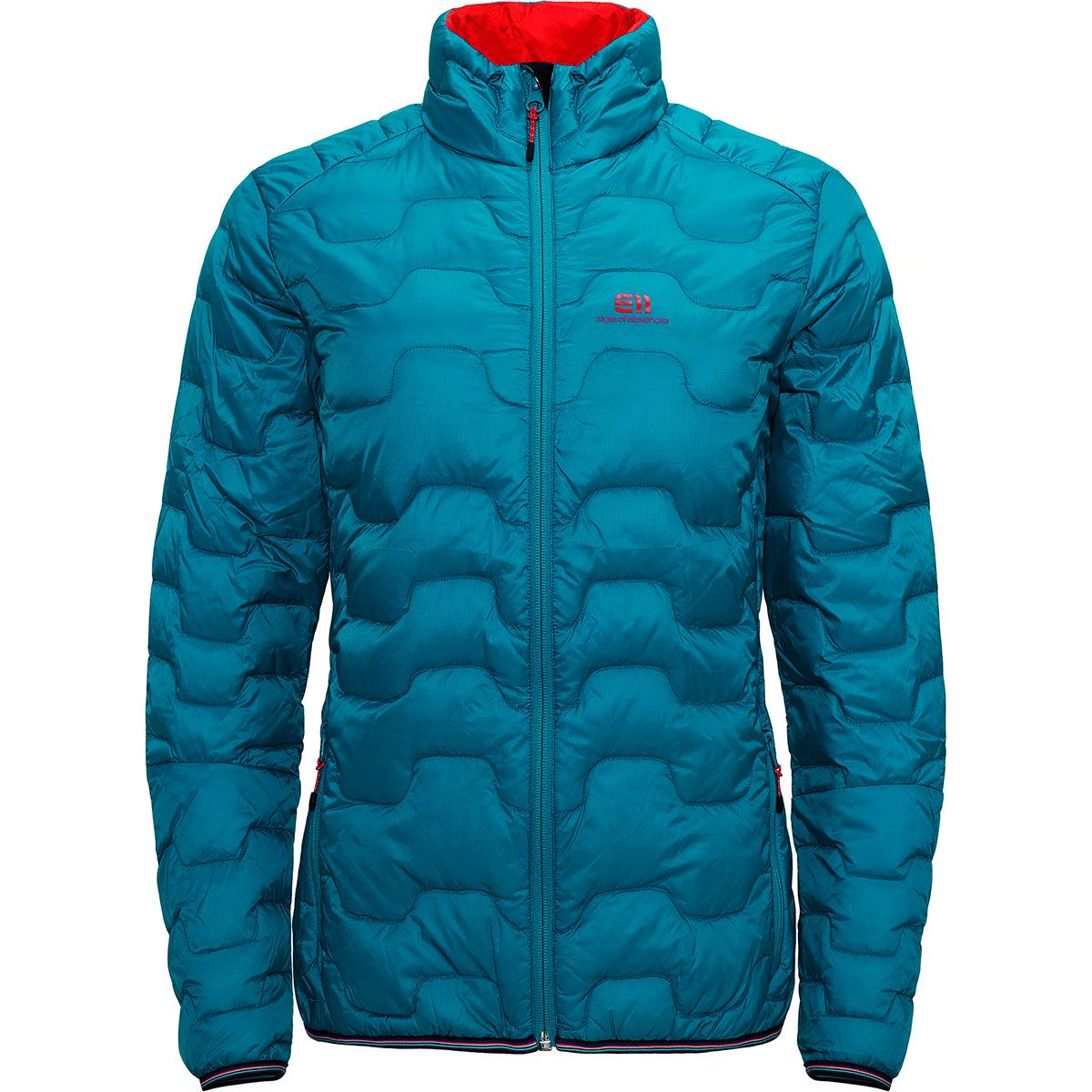 Elevenate Damen Motion Down Jacke (Größe XS, Blau) | Isolationsjacken > Damen