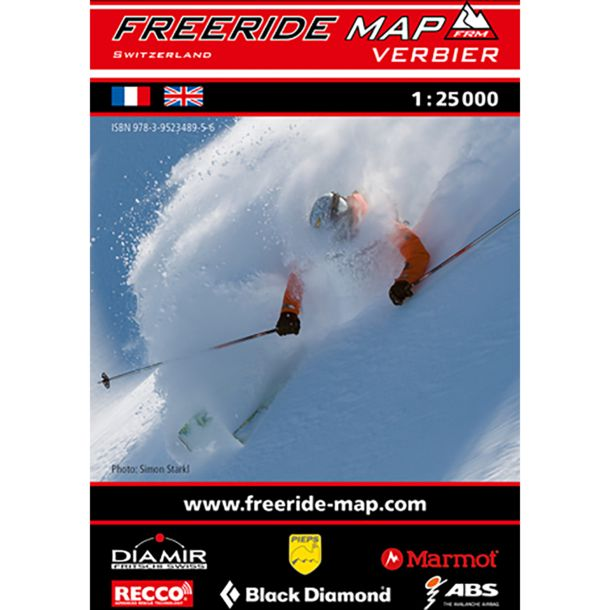 Freeride Map Verbier - Ski