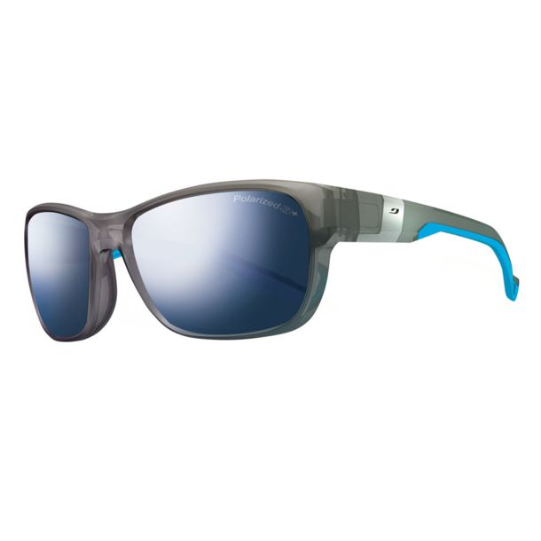 Julbo Men's Coast Polarized 3+Sunglasses grau/flash blau