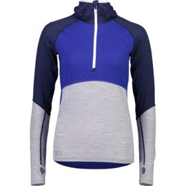 Mons Royale Damen Bella Tech Hooded Longsleeve
