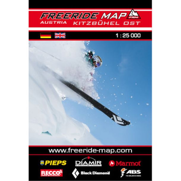 Freeride Map Kitzbühel East - Ski