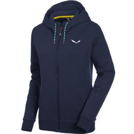 Salewa Damen Solidlogo 2 Full Zip Hoodie