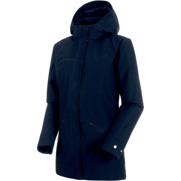 best service d8a22 e7038 Damen Chamuera HS Thermo Hooded Parka marine XS