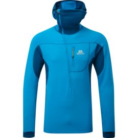 Mountain Equipment Heren Eclipse Hooded Zip Tee