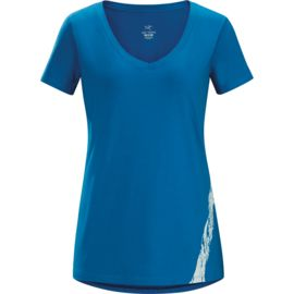 Arcteryx Damen Regenerate V-Neck T-Shirt