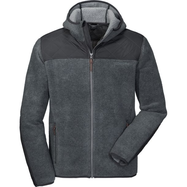 Herren Fleece Hoody Cardiff Plus wet weather 46