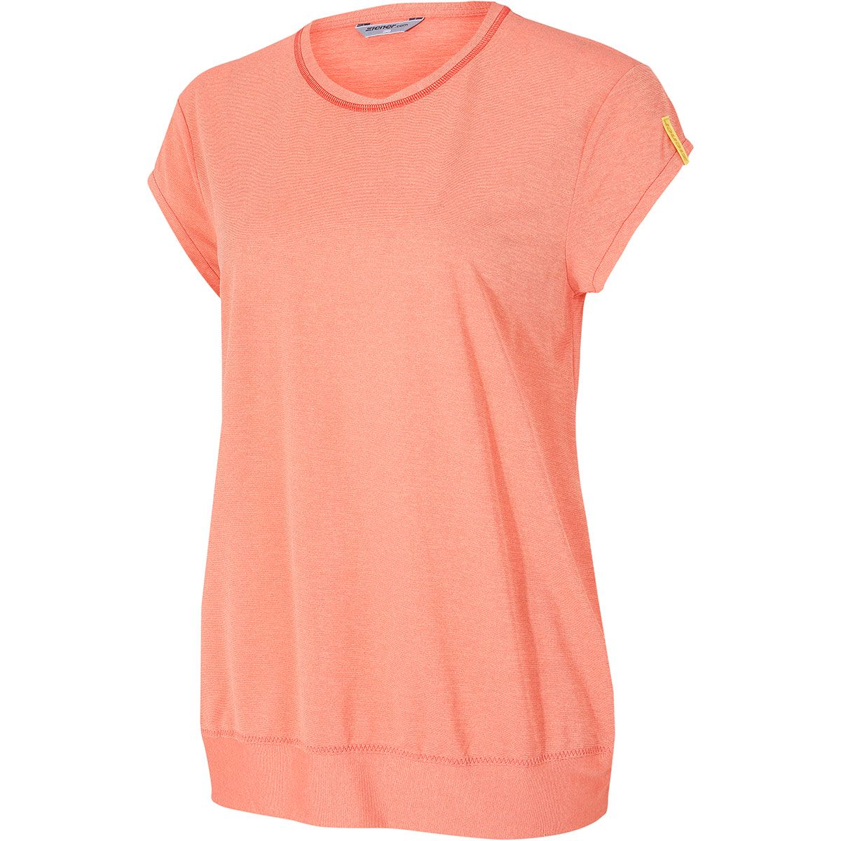 Ziener Damen Cadan T-Shirt (Größe L, Orange) | T-Shirts Funktion > Damen