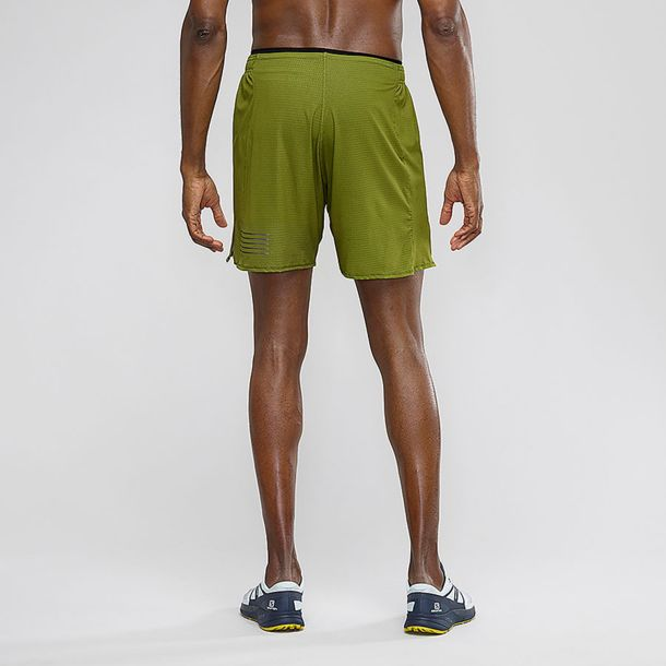 Salomon Sense Short Herren Laufhose avocado