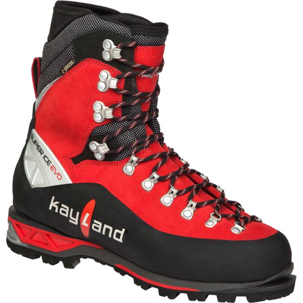 Kayland Herren Super Ice Evo GTX Schuhe black-red UK 11