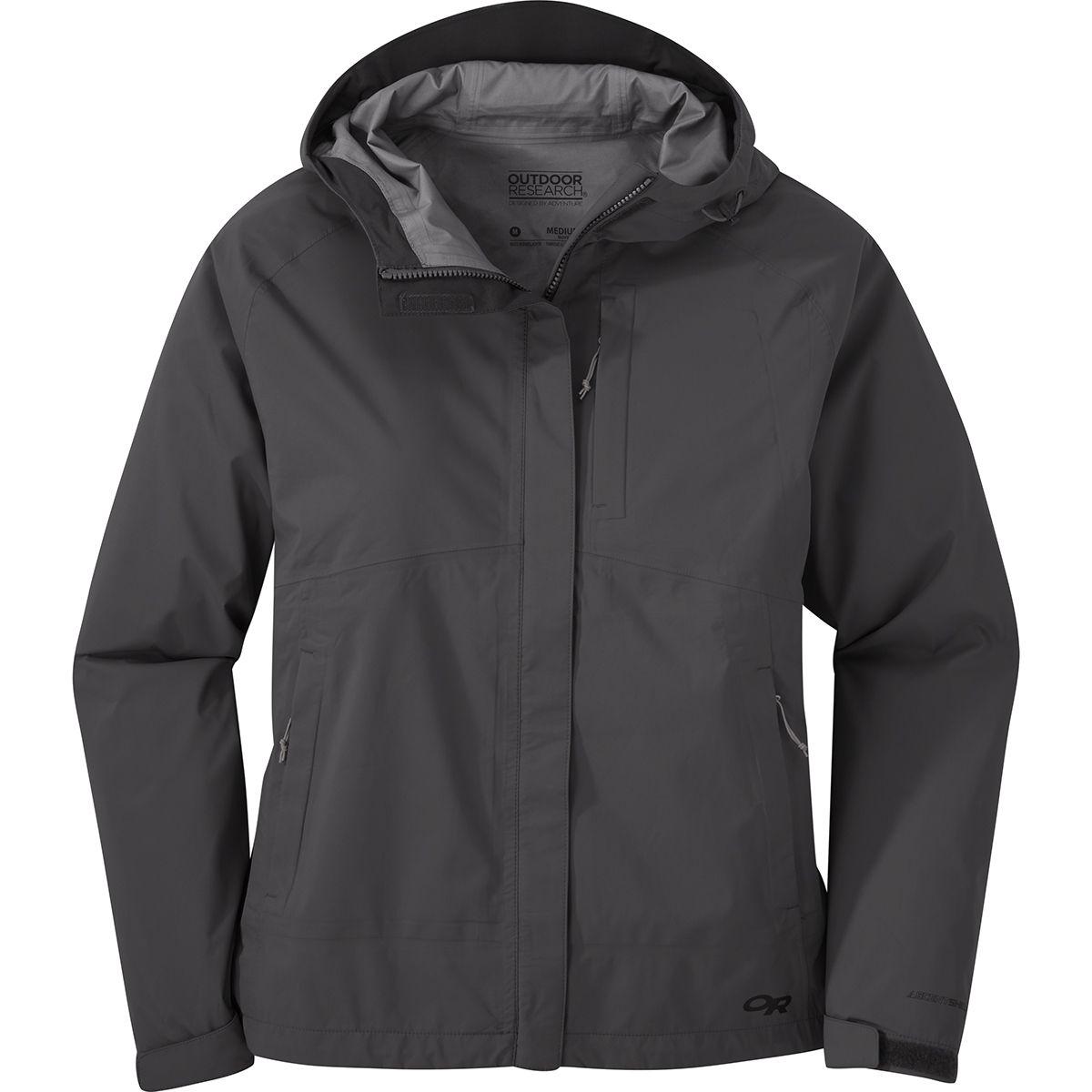 Outdoor Research Damen Guardian Jacke (Größe M, Braun) | Hardshelljacken & Regenjacken > Damen