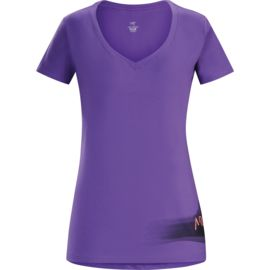 Arcteryx Damen Remote V-Neck T-Shirt