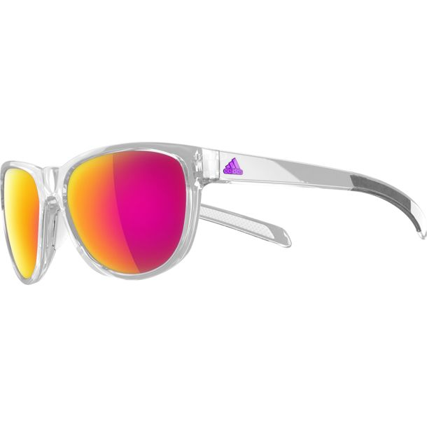 adidas Eyewear Wildcharge Colour Mirror Sonnenbrille crystal shiny/purple mirror