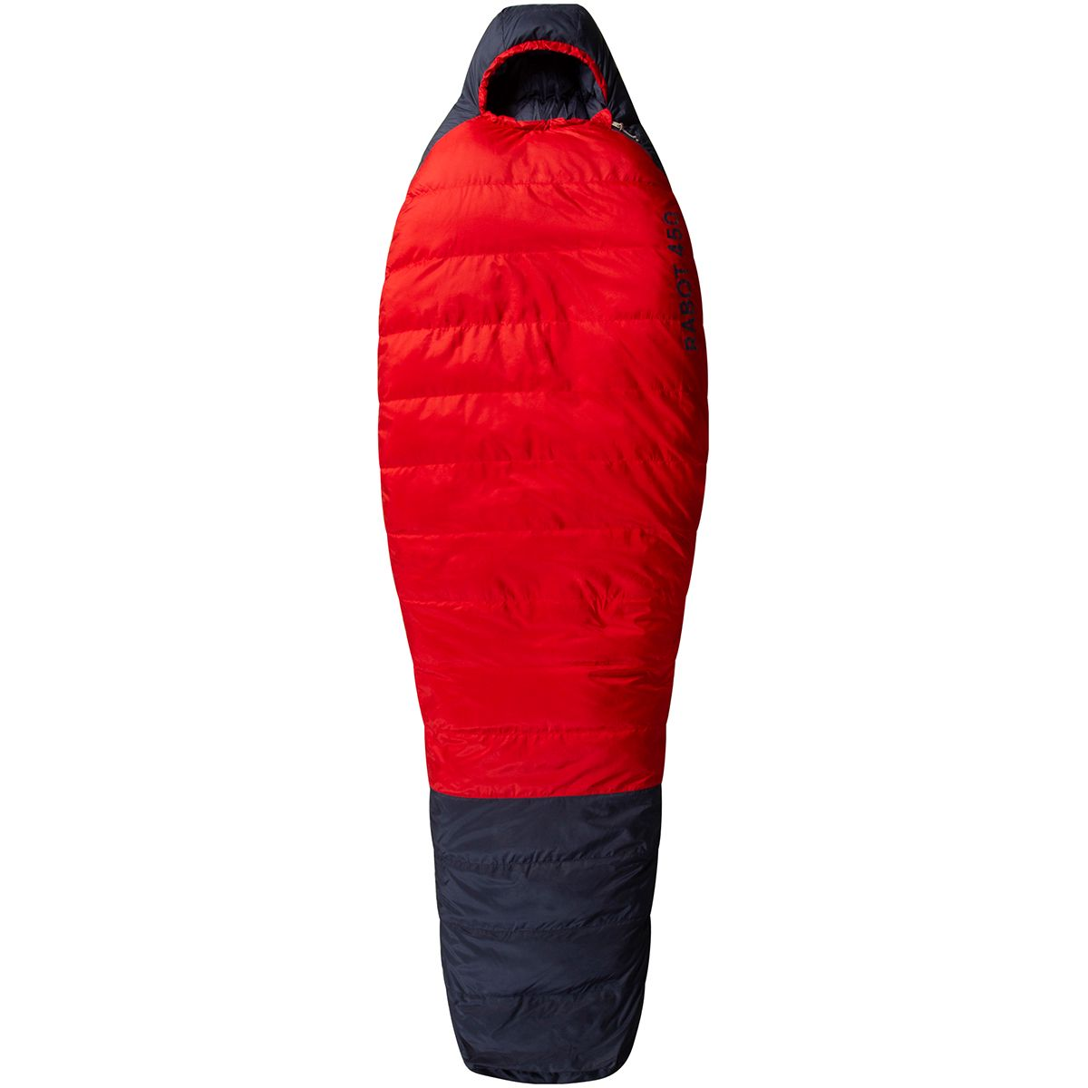 Image of Bergans Rabot Down 450 Schlafsack (Rot)