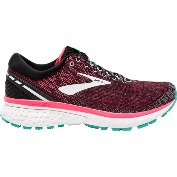 e32e068eade8b Buy Brooks Women s Ghost 11 Shoe black-pink-aqua US 6.5 online ...