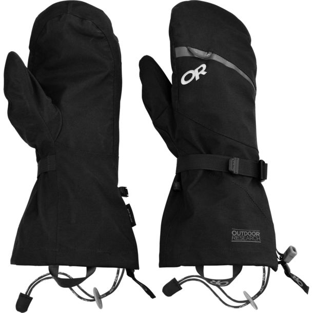 Outdoor Research Mt Baker Shell Mitts black S