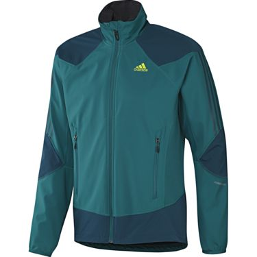 Adidas Men's TS Softshell Hybrid Jacket craft emerald craft emerald 46