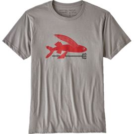 Patagonia Herren Flying Fish Organic T-Shirt